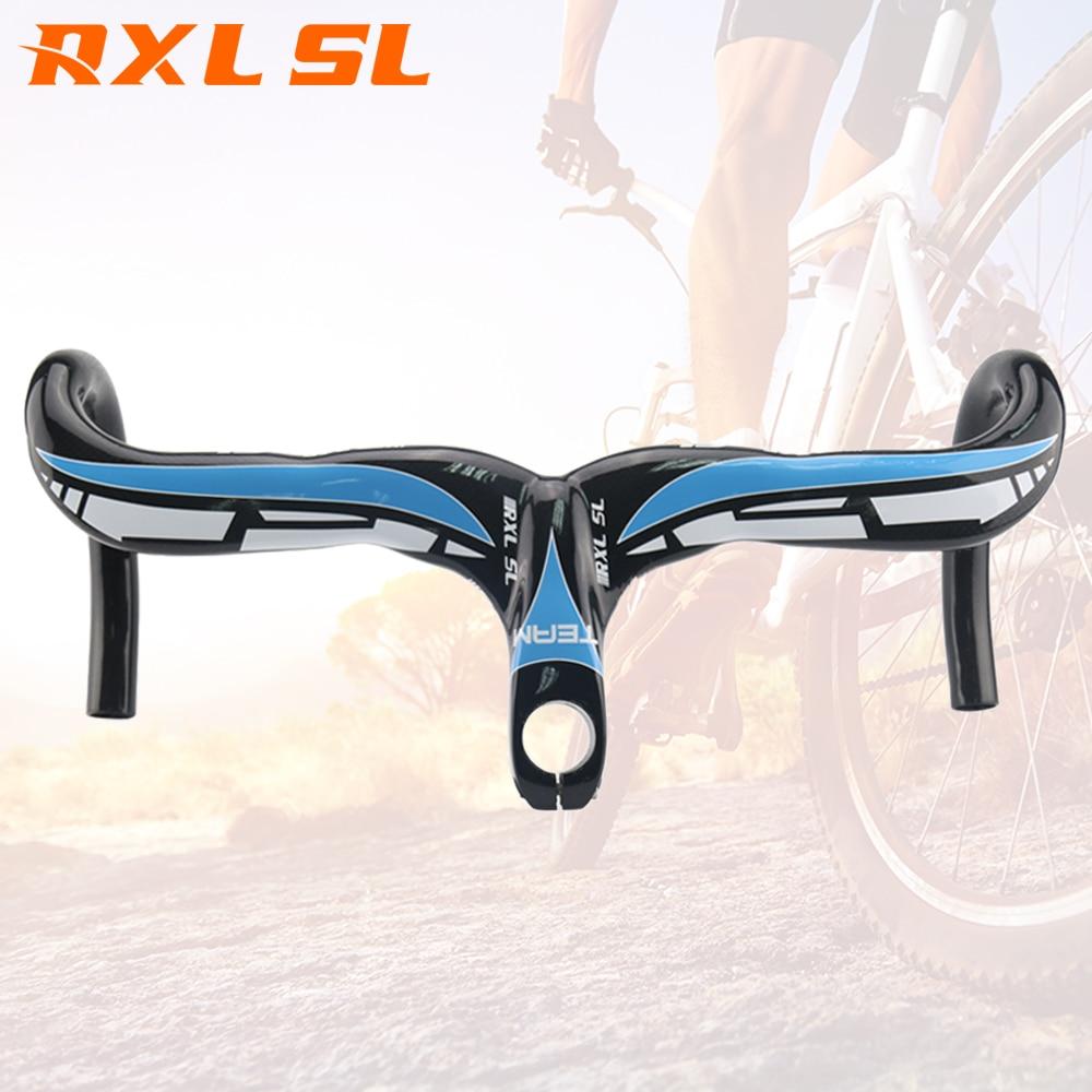 RXL SL Bicycle Handlebar Black Carbon Handlebar Road Handlebars Bent Bar 2017 Carbon Road Integrated Handlebars