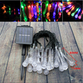 4.8M 20LEDs waterproof Solar Powered LED string lights Water drop night led light party patio night lights Christmas lights