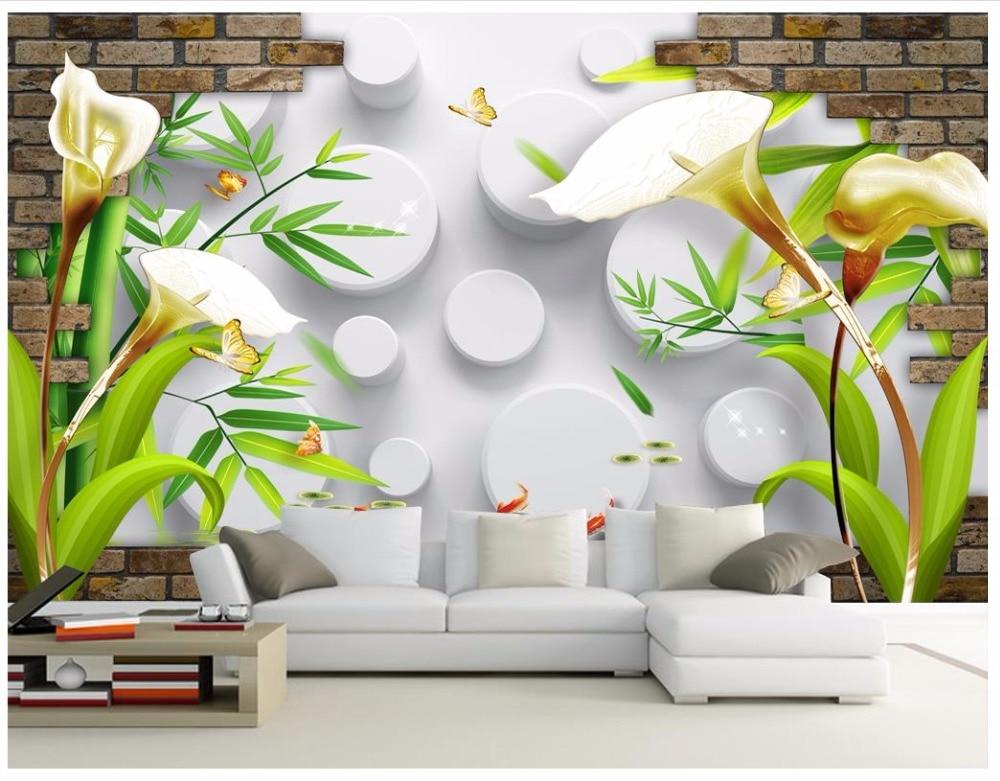 Custom 3d wallpaper for walls 3d wall murals wallpaper 3D ...