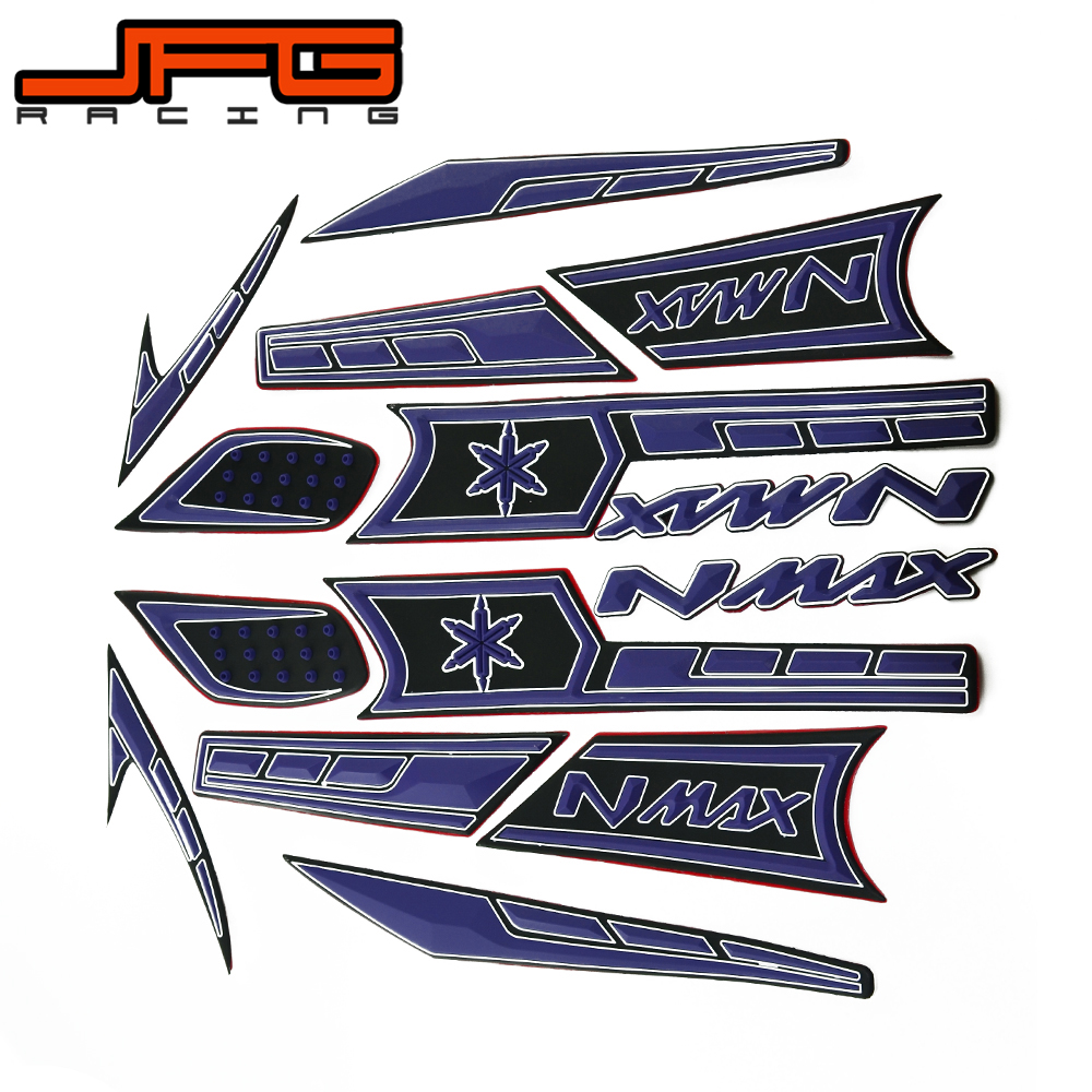 Motorcycle rubber stickers for yamaha nmax150 nmax 150 nmax 150