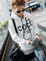 Women hoody sweatshirts coco fleece sportwear cute hoodies moleton feminino femme