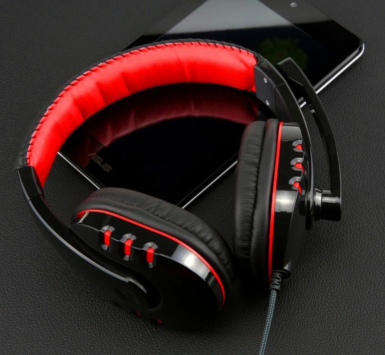Auricular estéreo de las auriculares de los juegos del ordenador del - Audio y video portátil - foto 2