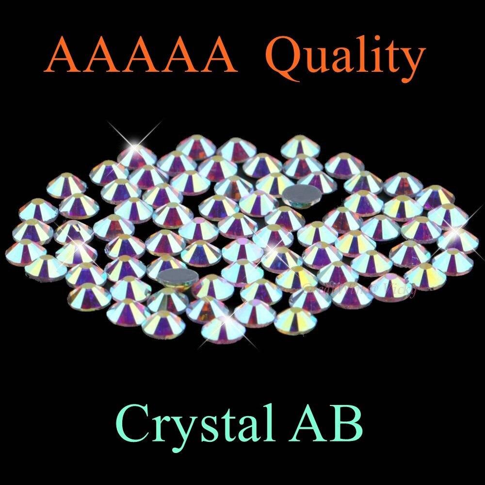 Высшее качество! Стразы горячей фиксации с кристаллами AB SS4 до SS50 разных размеров SS6 SS10 SS12 SS16 SS20 SS30 SS40 Свободные Стразы со стразами