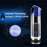 Портативный USB аккумуляторная атомов водорода богатый ионизатор воды бутылка чашки H2 USB кабель Кухня электрический пр