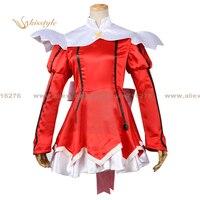 Kisstyle Fashion Kaito Tenshi Twin Angel Haruka Minazuki Red Uniform COS Clothing Cosplay Costume,Customized Accepted