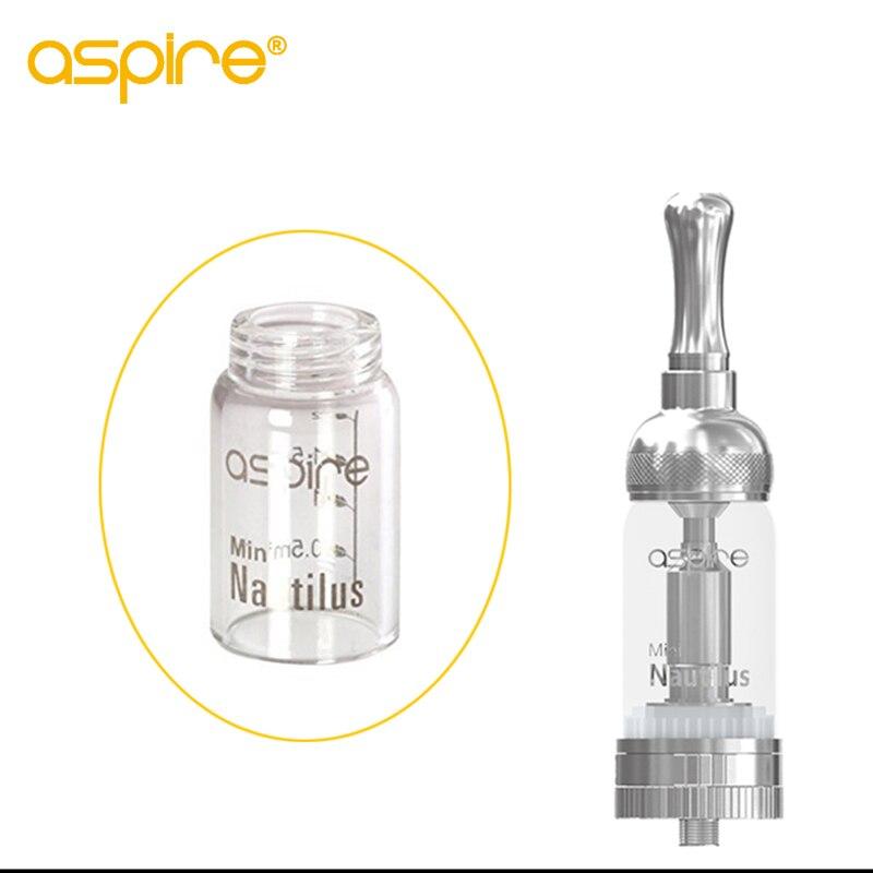 Aspire Nautilus Mini Replacement Pyrex GlassTube 2 ML Capacity Glass Tank Compatible With Aspire Nautilus Mini Atomizer