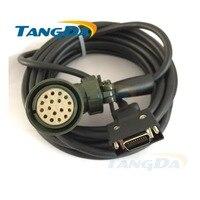 Tangda servomotor code lijn MR-J2S serie verbindingslijn MR-JHSCBL03 05 10M-L draad Kabel 5 meters