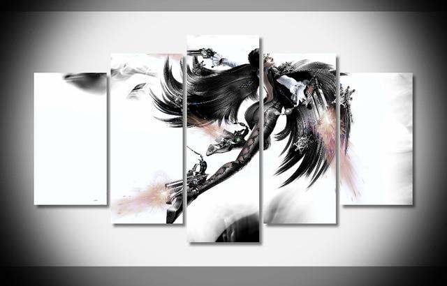 6680 bayonetta 2 video games Poster Framed Gallery wrap art print ...