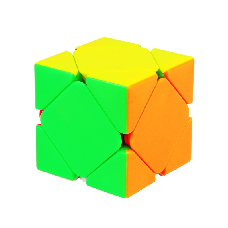YUXIN ZHISHENG Skew Magic Cube Stickerless Puzzle Cube Jouets Éducatifs