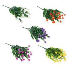 Artificial Simulation Milan Grass Plastic Money Flower Outdoor Plant Green Window Home Garden Wedding Decoration
