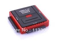50pcs Lots USB 2 0 To SATA IDA Cable Adapter Upports 3 SATA Hard Free Shipping