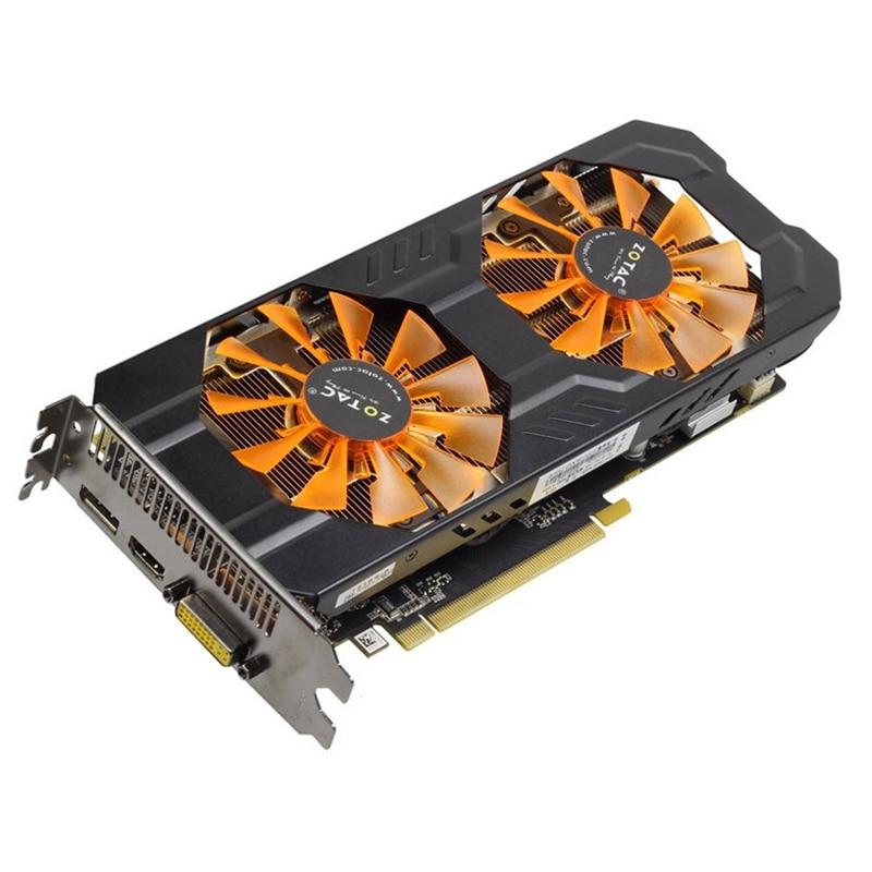 Графические карты ZOTAC GTX 760, 2 Гб, видеокарта GeForce GPU GTX760 2GD5, 256Bit GDDR5 GTX760-2GB для nVIDIA GK104 Map Hdmi Dvi VGA
