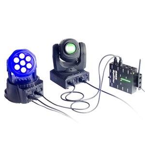 Image 5 - ALIEN 8 דרך אלחוטי DMX 512 3 פינים מבודד ספליטר מגבר עם Wireless DMX משדר מקלט עבור DJ דיסקו שלב אורות