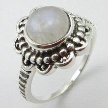 Цельное серебряное Радужное окисленное кольцо с лунным камнем Размер 6,25 ширина лица 15 мм уникальный дизайн