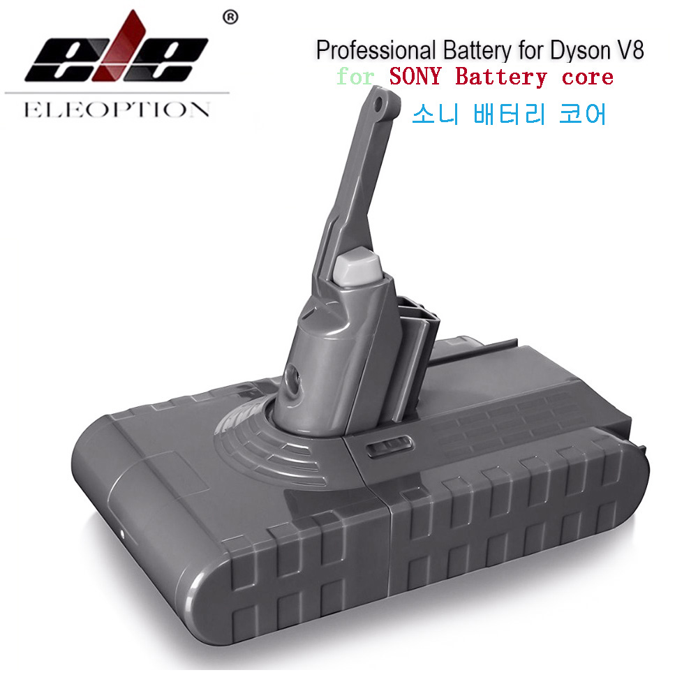 3500 mAh 21.6 V batterie pour Dyson V8 batterie pour Dyson V8 absolu/moelleux/Animal/Li-ion aspirateur batterie rechargeable & 3.0