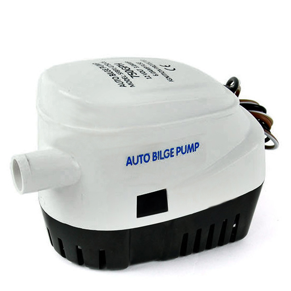 750GPH DC 12V 24V Boat Marine Automatic Submersible Boat Bilge Full Auto Water Pump DC submersible electric pump все цены