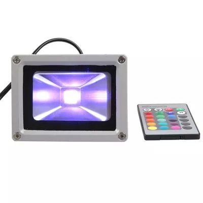 AC85-265v Led floodlight 50w RGB outdoor waterproof colorful cast light bar stage projection lamps
