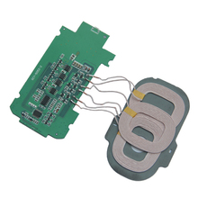 Excellent Replacment DIY 3 Coils Wireless Charger PCBA Circuit Board 5V/2A Charging Transmitter For Smart Phone
