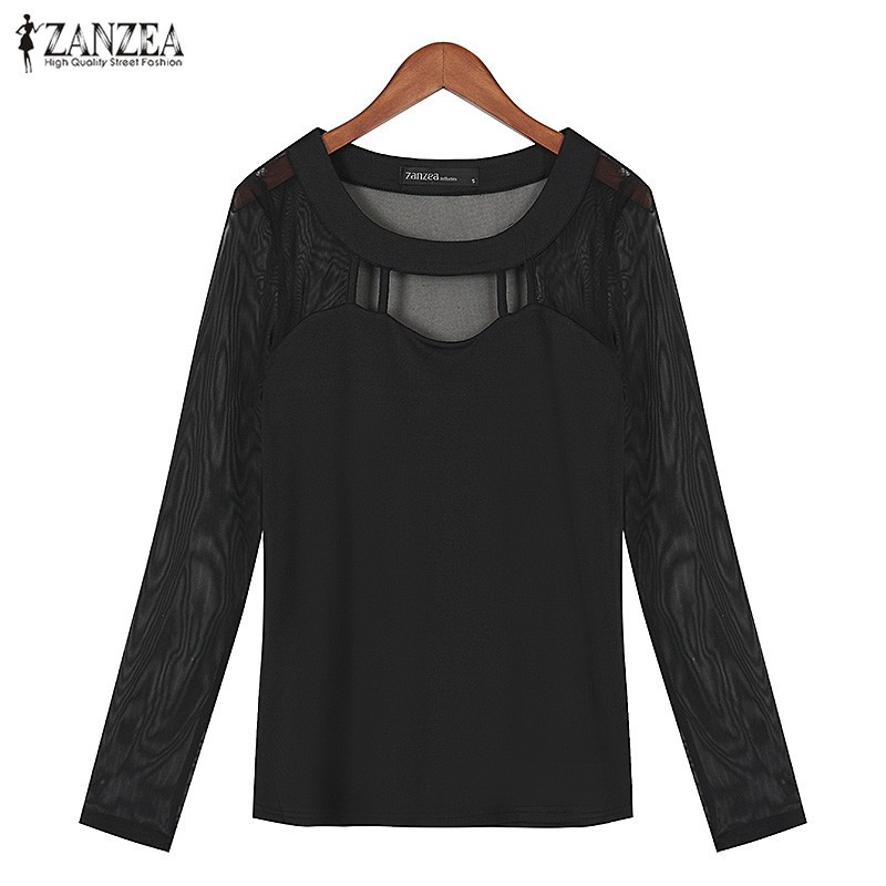 HTB1xIiGOFXXXXajaXXXq6xXFXXX6 - Autumn Sexy Long Sleeve O Neck Solid Blusas Shirts