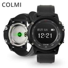 Купить Colmi T2 IP68 Водонепроницаемый монитор сердечного ритма нажмите сообщение напоминание Часы Bluetooth 4.0 поля Для мужчин Спорт Смарт часы