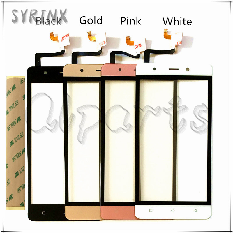 SYRINX touch screen digitizer sensor touchscreen For Fox BMM 532 532s mobile phone touch panel front glass with TapeSYRINX touch screen digitizer sensor touchscreen For Fox BMM 532 532s mobile phone touch panel front glass with Tape
