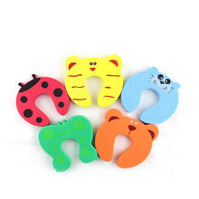 Protection Baby Safety Cute Animal Security Card Door Child Kids Protection From Children Home Furniture Seguridad Bebe-in Cabinet Locks & Straps