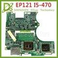 KEFU EP121 placa base ASUS EP121 B121 placa base de computadora portátil casi nuevo ep121 I5 CPU REV 1,4G de prueba original 100%