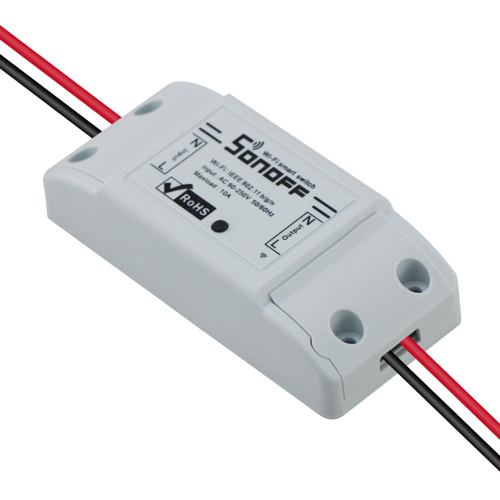 Sonoff dc220v Pilot Bezprzewodowy Przełącznik automatyki Inteligentnego Domu/Inteligentny WiFi Centrum dla APP Inteligentny Dom Steruje 10A/2200 W 9