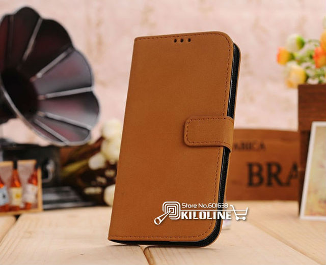 Retro Style Wallet Leather Case Cover for Samsung Galaxy S4 S IV i9500