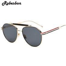 2017 Fashion Brand Designer Pilot Sunglasses Women Vintage Brown Glasses for Women or Men Oculos lunette de soleil