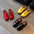 Дети кожа shoes 2017 весной новые детские развлекательные спортивные мальчики и девочки ребенок мокасины мальчиков формальный shoes кожа schoo