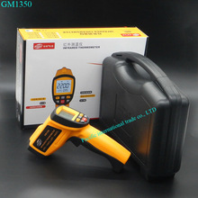 Sale Non-Contact IR Infrared GM1350 Digital LCD display  Thermometer 50:1  -30~1350C (0~2462F) With Carry Box