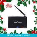 MX9 Pro tv box Android 8.1 4GB 32GB RK3328 Quad Core 4K VP9 3D 2.4G 5G WiFi Bluetooth Pk x92 x96mini tvbox no Iptv