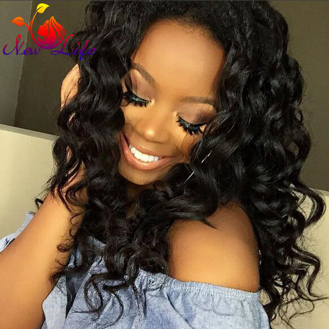 7a brazilian loose wave lace front wigs synthetic hair for women wet and wavy front lace wigs glueless lace front wigs baby hair