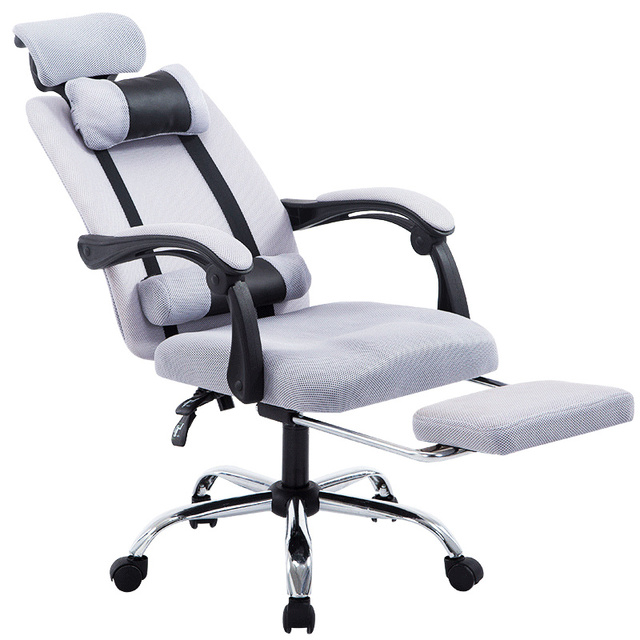 Mesh Gaming Chair Personalized For Baby Computer Fabric Office With Padded Footrest And Armrests Adjustable Seat