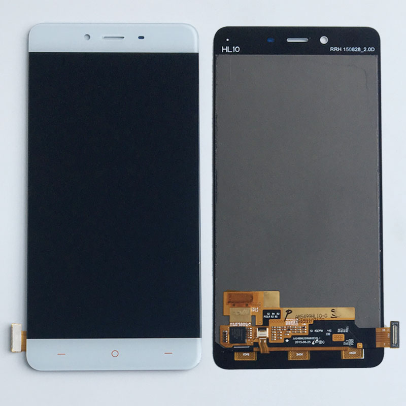 White LCD Display Touch screen Digitizer Assembly For Oneplus One Plus X replacement
