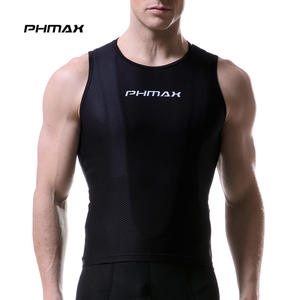 PHMAX Fitness Cycling Base Layer Bike Clothes Wear Cycling Jerseys Top Compression Sports Tight Shirts Cycling Bicycle Clothing