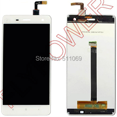 Подробнее о For Xiaomi 4 M4 Mi4 xiao mi Mi4 LCD Screen Display with Touch Screen Digitizer Assembly by free shipping; HQ; White color for xiaomi 4 m4 mi4 xiao mi mi4 lcd screen display with touch screen digitizer assembly by free shipping hq white color