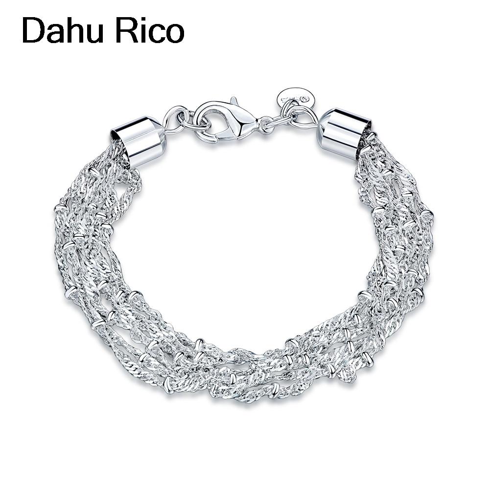 braslet halhal regalos nova silver plated biker vegan spiritual best selling 2018 products mix Dahu Rico bracelets