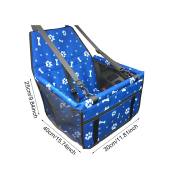 Oxford Car Travel Pet Carrier Dogs Cat Seat Pillow Cage Collapsible Crate Box Carrying Bags Pets Supplies Transport Chien Puppy 1