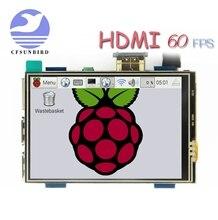Pantalla táctil LCD de 3,5 pulgadas, HDMI, USB, HD Real, 1920x1080, Py para Raspberri 4, modelo B / Orange Pi (Play Video Juego) MPI3508