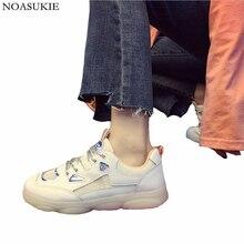 Tenis Feminino Women Fashion Tennis Shoes Breathable Stitching Flat Sneakers Lightweight Social Popular