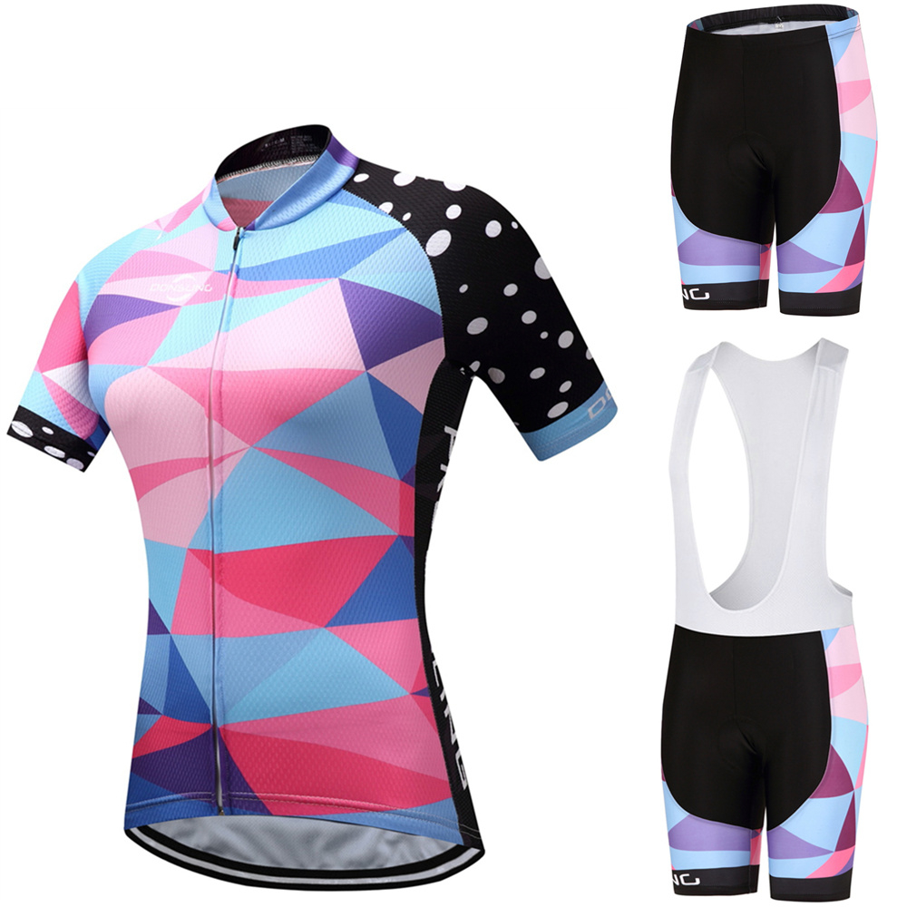 Gurensye New Style Ropa Ciclismo Cycling Jersey/Breathable Bicycle Cycling Clothing/Quick-Dry Bike Sportswear women Cycling Sets
