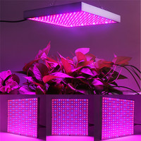 LVJING 4PCS Hydroponics 20W Red+Blue LED Grow Lights For Indoor Plants Flowering Agricultural Greenhouses LED Panel Light Lamp