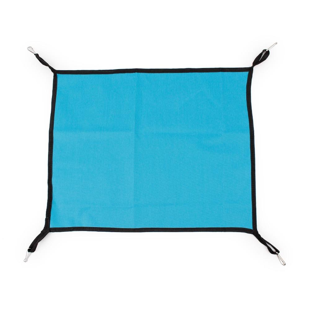 Кошка гамак кроватка кровать для домашних животных кровать теплая мягкая ткань прочный - Цвет: light blue