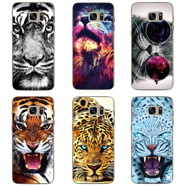 samsung s7 edge case tiger