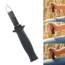 Toy Knife Trick Slide-Dagger Magic Plastic Joke -Hc6u Halloween-Props Retractable
