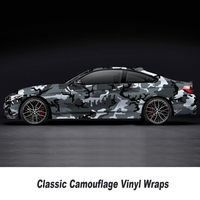 Customized camouflage Vinyl Wrap Camo Bubble Free For Car Wrapping film for Auto furniture Motorcycle 5/10/15/20/25/30m