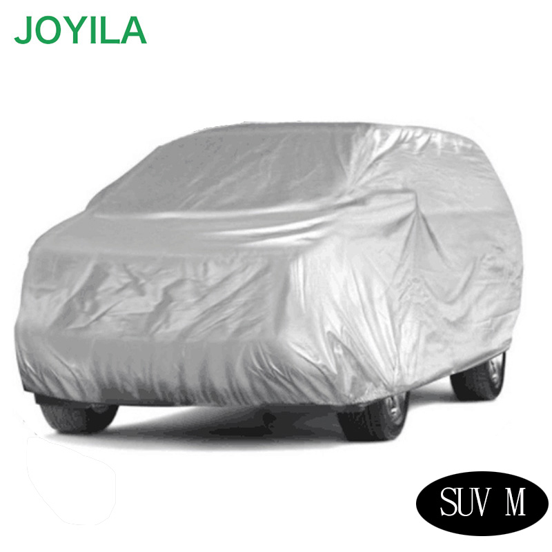 Joyila Full Car Covers Dustproof Indoor UV Resistant Sun Protection polyester Cover universal for Suv Sedan(China)