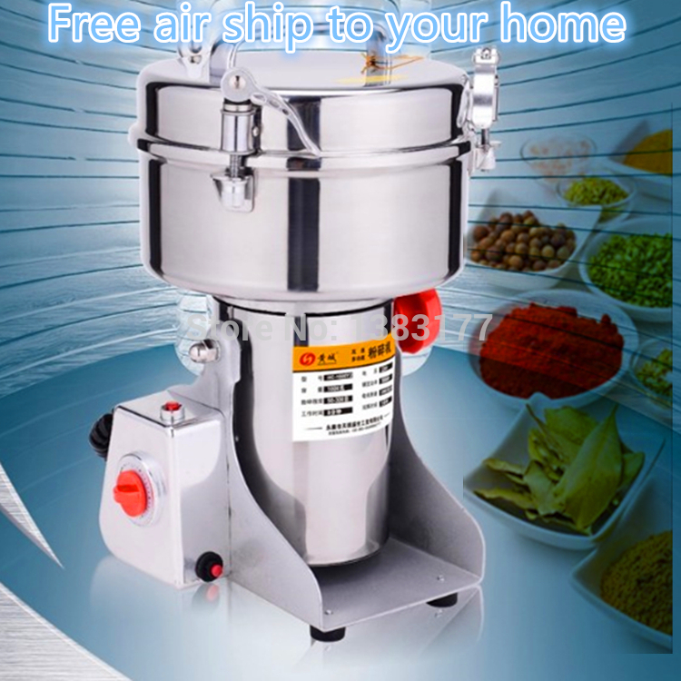 купить free ship 2000G Swing soybean sesame grain chili Grinder Food Pulverizer aniseed Food herb Mill Grinding power machine недорого